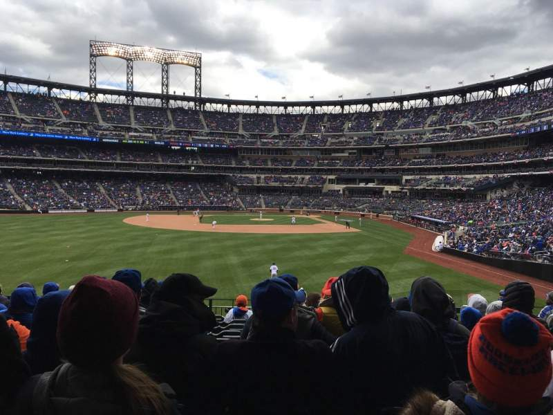 Seating view for Citi Field Section 135 Row 11 Seat 5