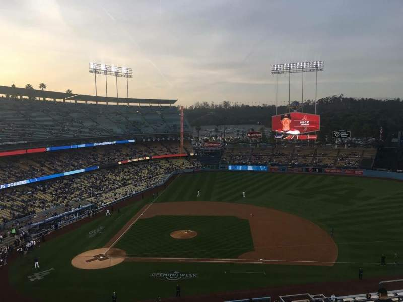 Seating view for Dodger Stadium Section 16RS Row J Seat 5