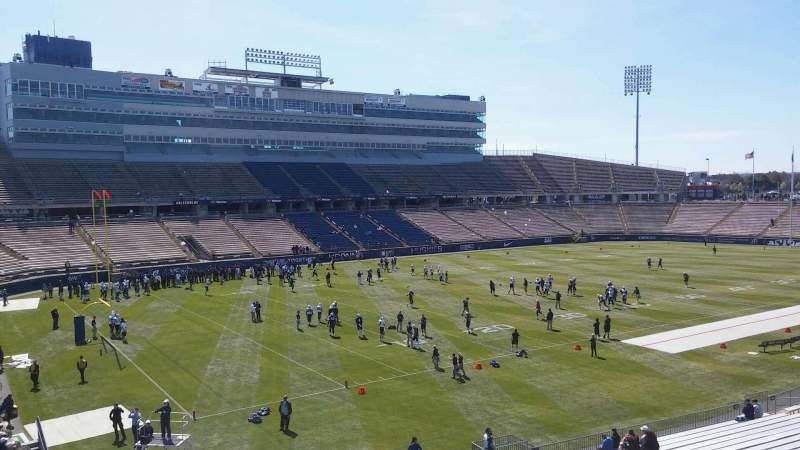 Seating view for Rentschler Field Section 218 Row a Seat 10