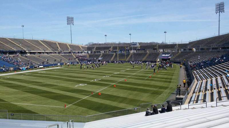 Seating view for Rentschler Field Section 134 Row 21 Seat 26