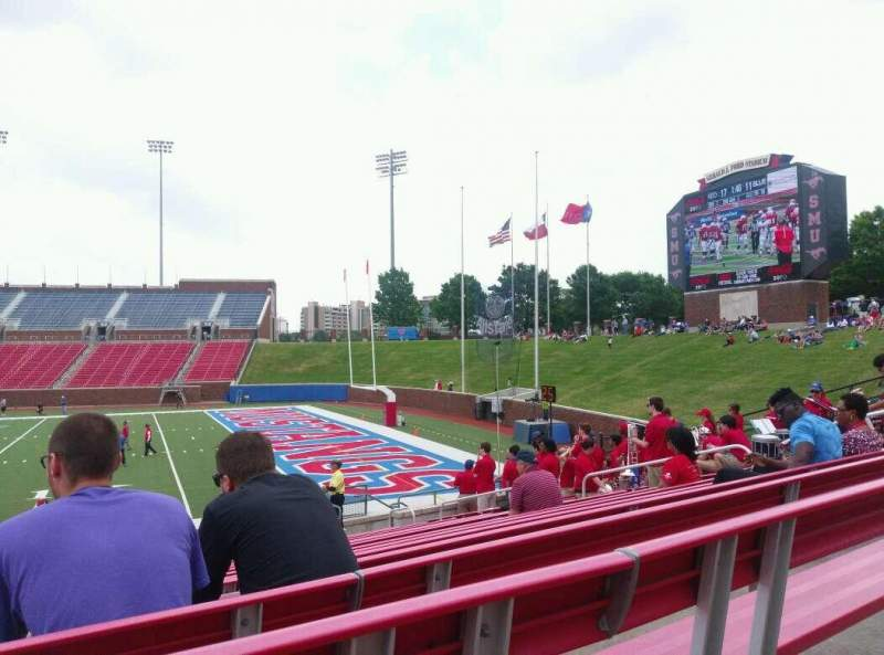 Seating view for Gerald J. Ford Stadium Section 101