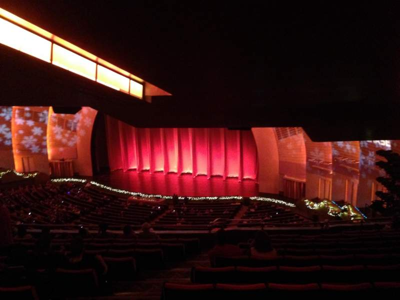 Seating view for Radio City Music Hall Section 2nd Mezzanine 1 Row K Seat 108