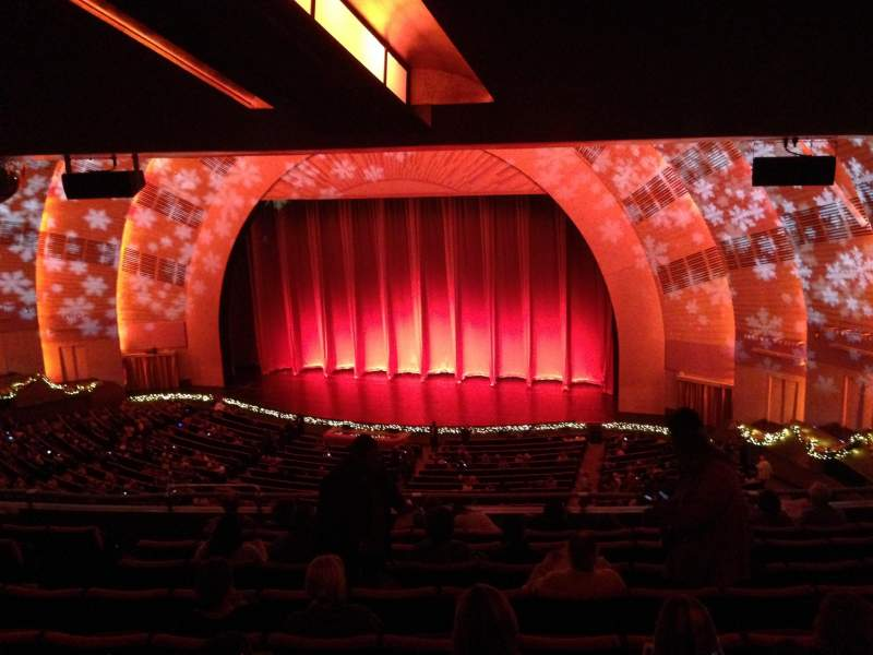 Seating view for Radio City Music Hall Section 2nd Mezzanine Row J Seat 206