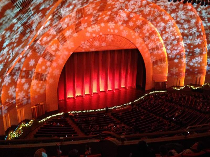 Seating view for Radio City Music Hall Section 3rd Mezzanine 7 Row F Seat 709