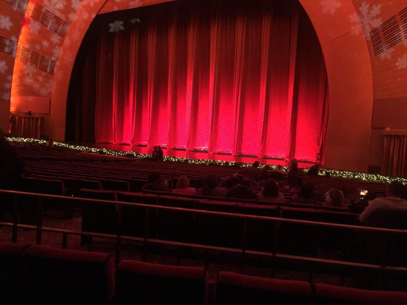 Seating view for Radio City Music Hall Section Orchestra 1 Row WWW