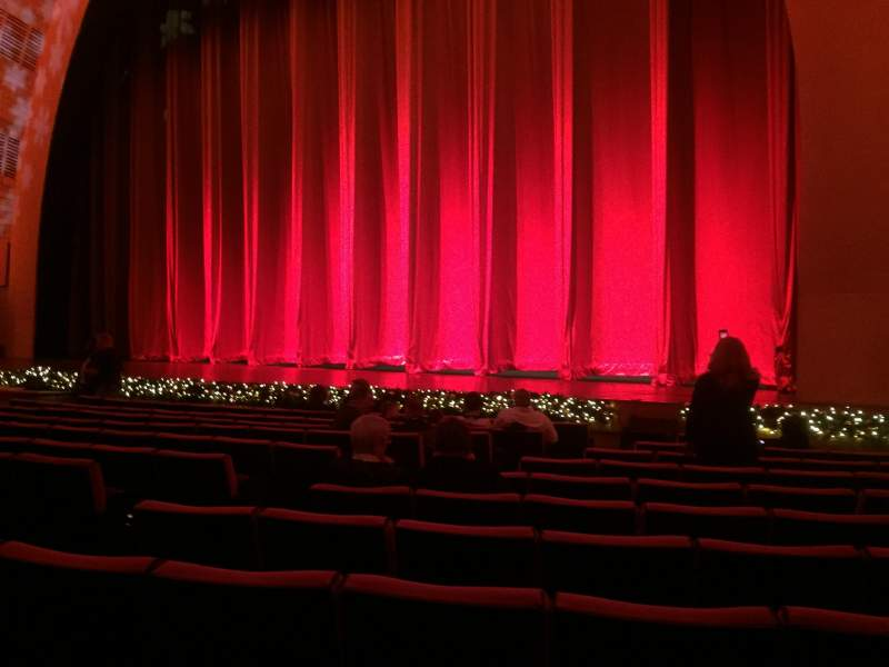 Seating view for Radio City Music Hall Section Orchestra 2 Row PP