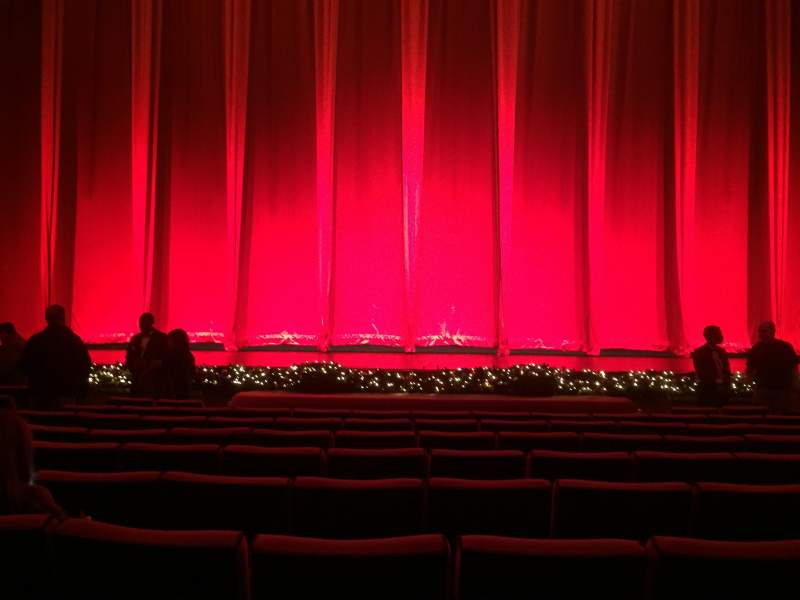 Seating view for Radio City Music Hall Section Orchestra 4 Row PP