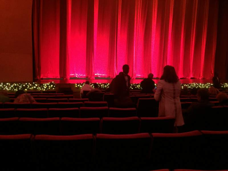 Seating view for Radio City Music Hall Section Orchestra 6 Row PP
