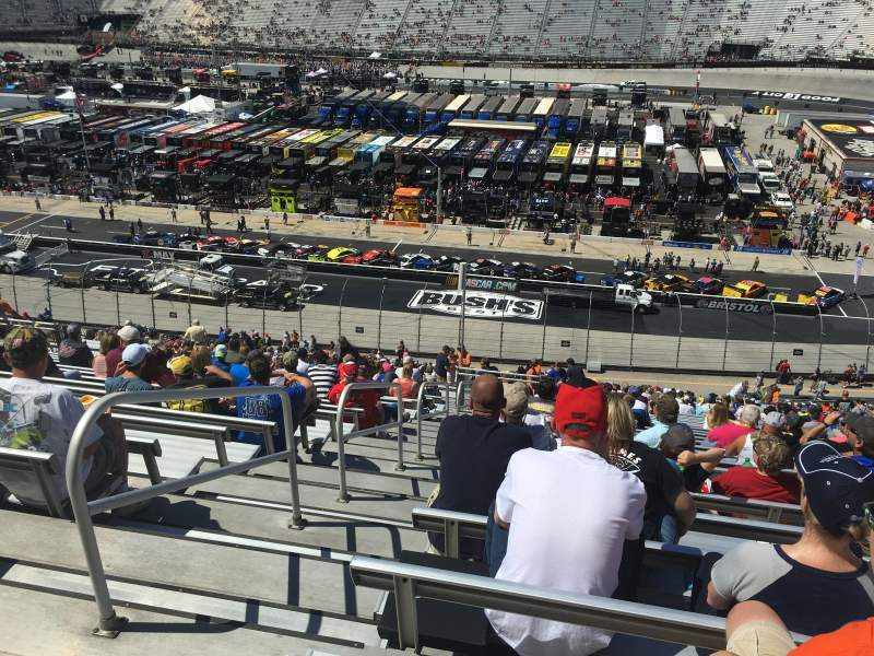 Bristol Motor Speedway Section Aa Allison Towers Row 127