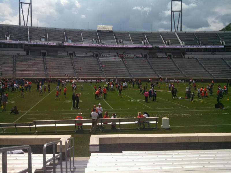 Seating view for Scott Stadium Section 108 Row N Seat 23