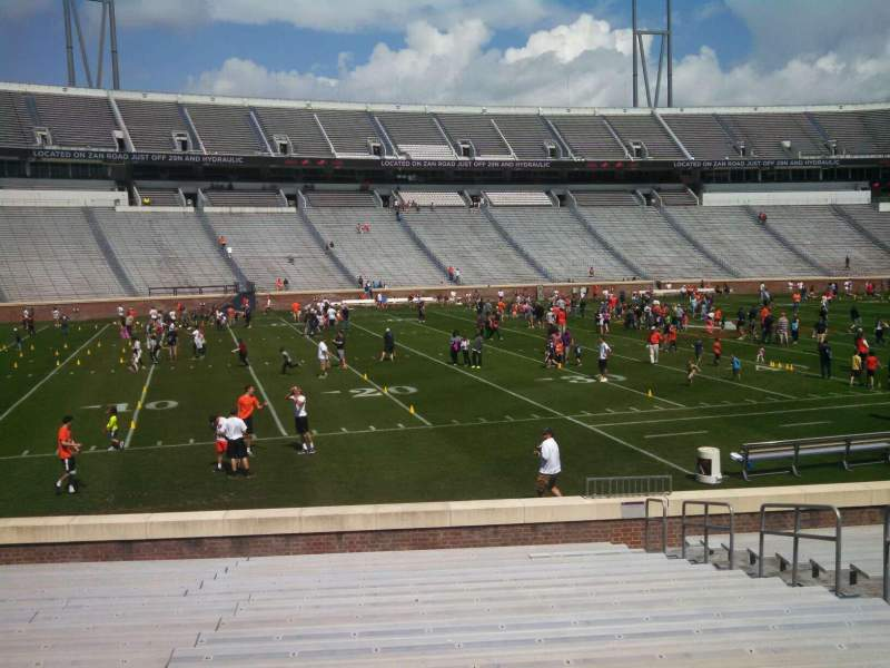 Seating view for Scott Stadium Section 128 Row S Seat 8