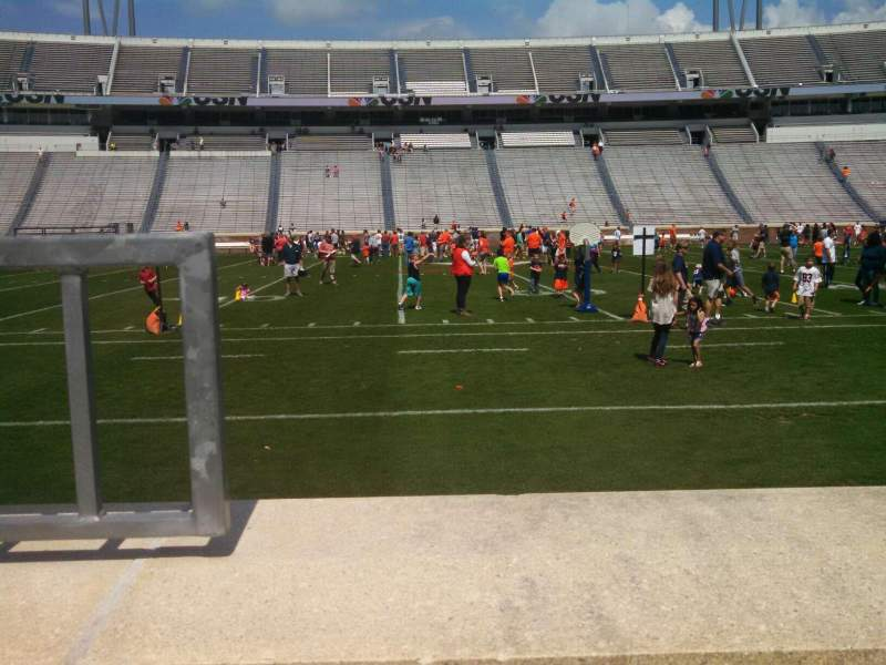 Seating view for Scott Stadium Section 125 Row A Seat 22
