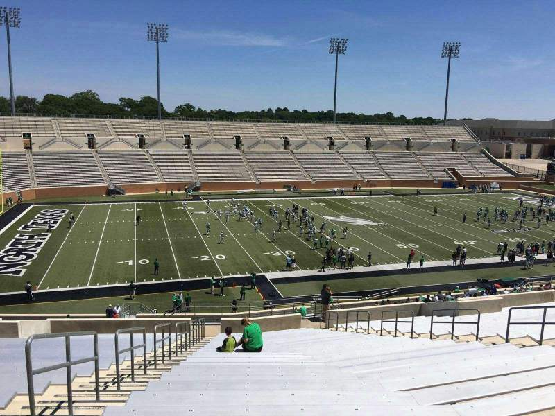 Seating view for Apogee Stadium Section 210 Row 23 Seat 8