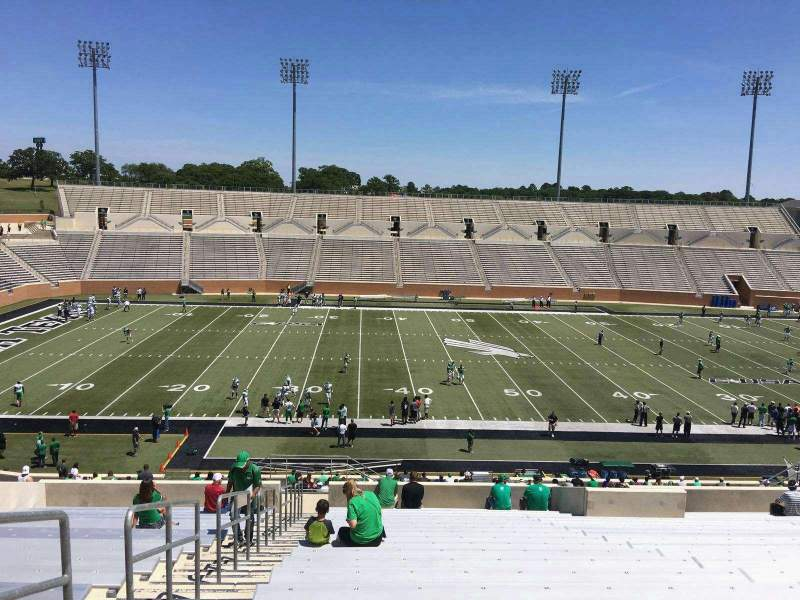 Seating view for Apogee Stadium Section 207 Row 21 Seat 27