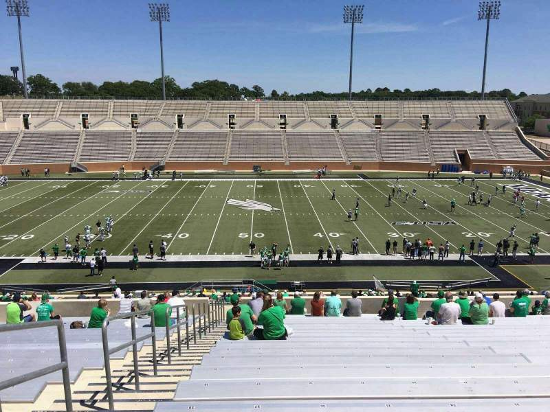 Seating view for Apogee Stadium Section 206 Row 22 Seat 26