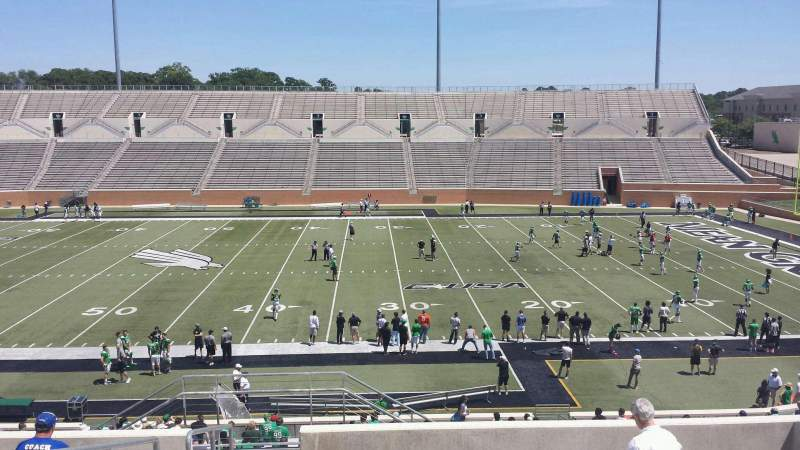 Seating view for Apogee Stadium Section 205 Row 10 Seat 25
