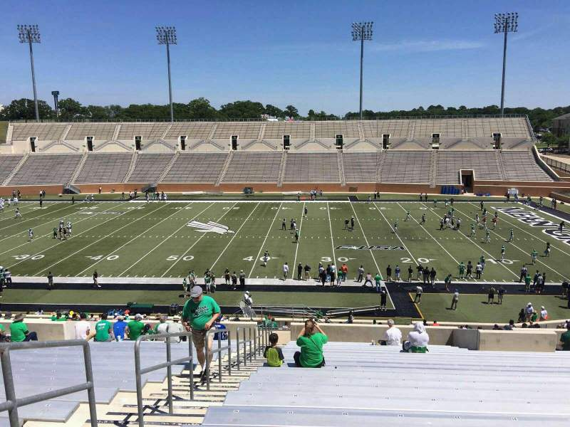 Seating view for Apogee Stadium Section 205 Row 20 Seat 25