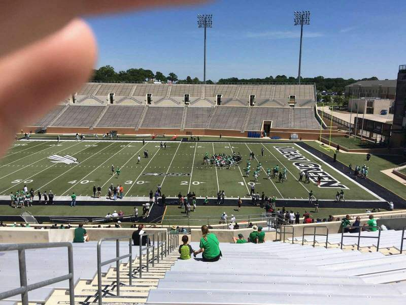 Seating view for Apogee Stadium Section 204 Row 20 Seat 9