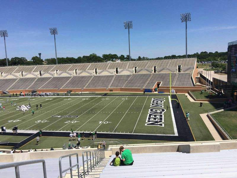 Seating view for Apogee Stadium Section 202 Row 20 Seat 26