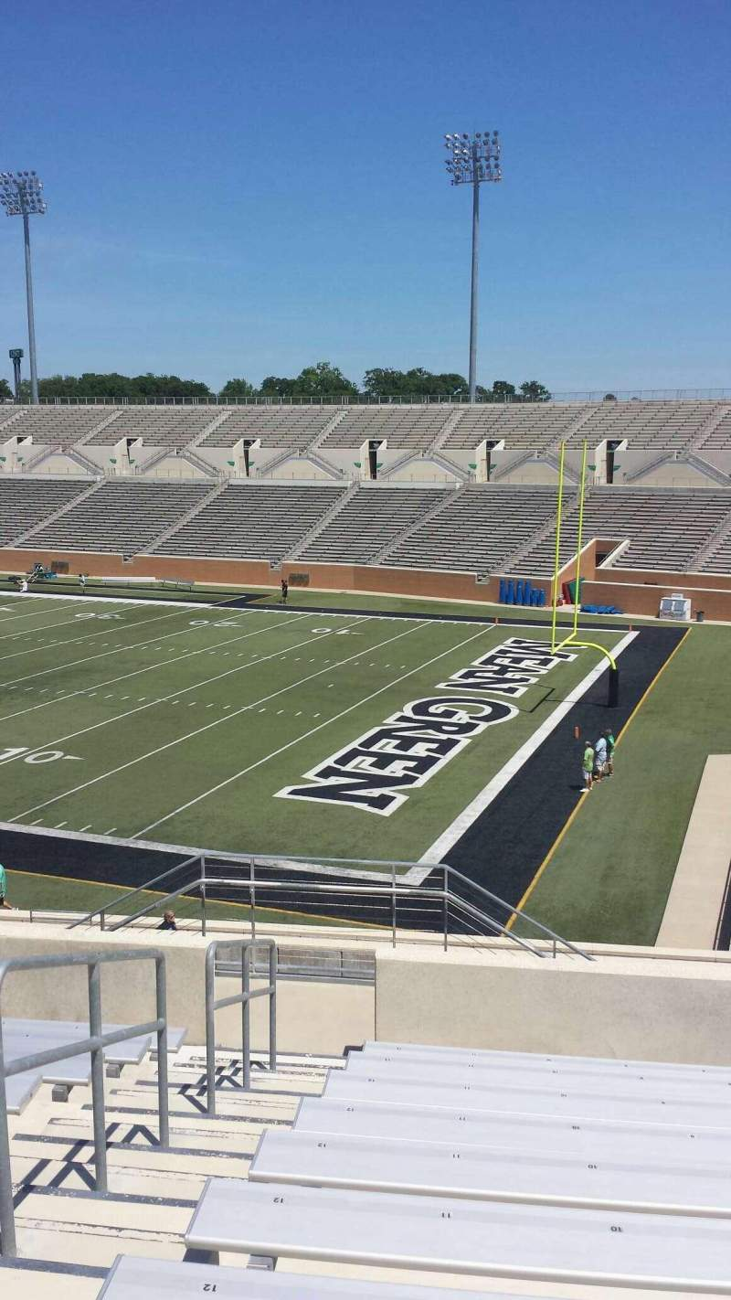 Seating view for Apogee Stadium Section 202 Row 10 Seat 11