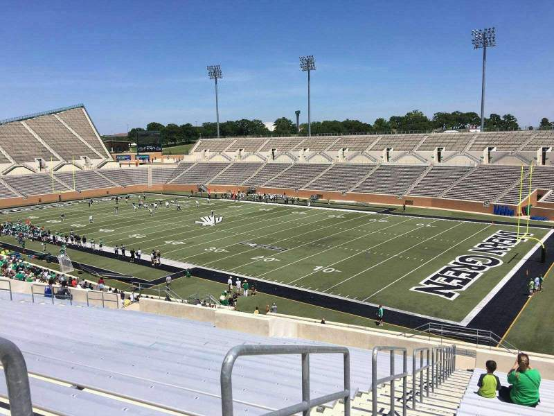 Seating view for Apogee Stadium Section 202 Row 20 Seat 11
