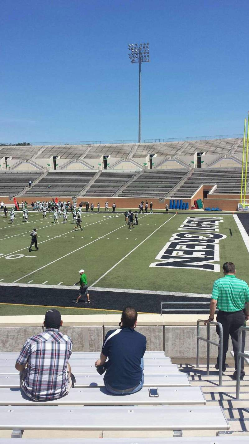 Seating view for Apogee Stadium Section 102 Row 13 Seat 2