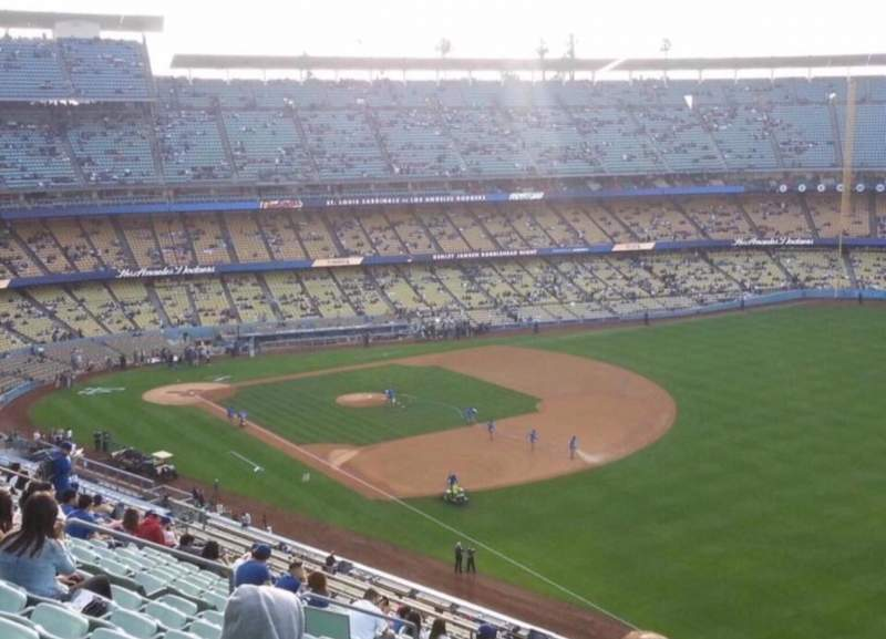Seating view for Dodger Stadium Section 40RS Row J Seat 4