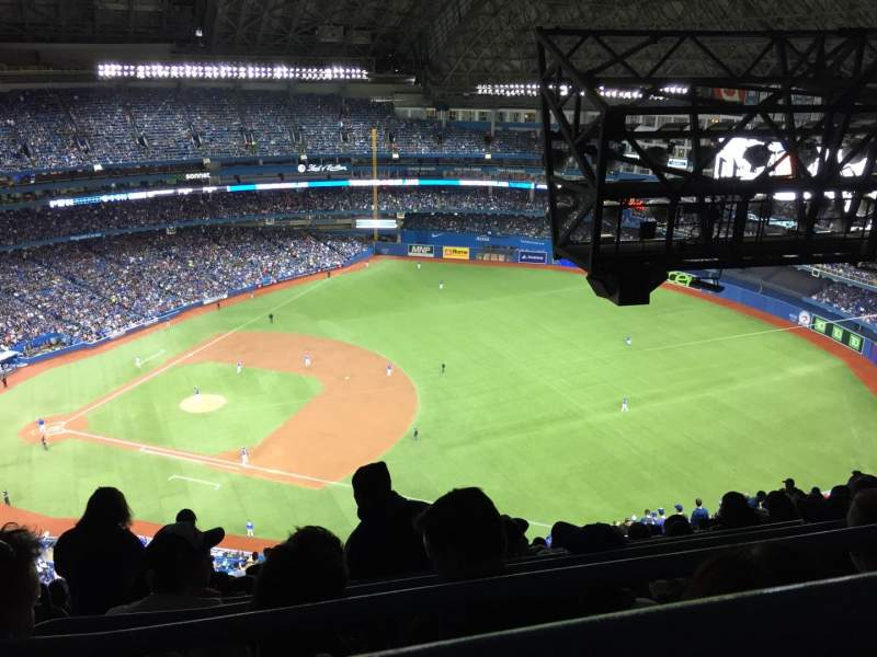 Seating view for Rogers Centre Section 515R Row 35 Seat 1
