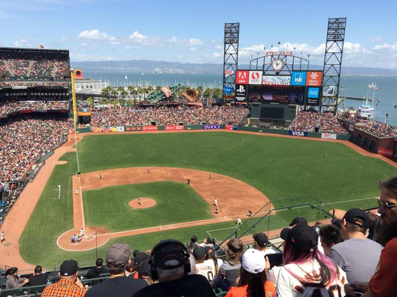 Seating view for AT&T Park Section 311 Row 7 Seat 11