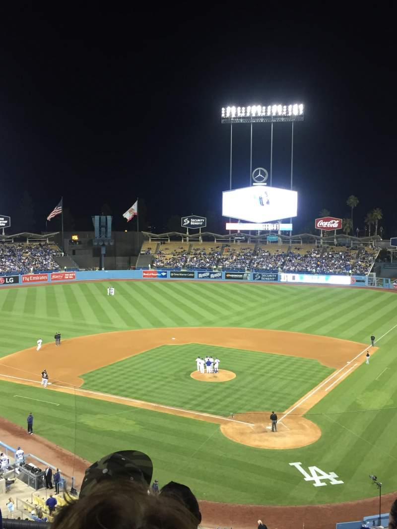 Seating view for Dodger Stadium Section 5RS Row D Seat 10