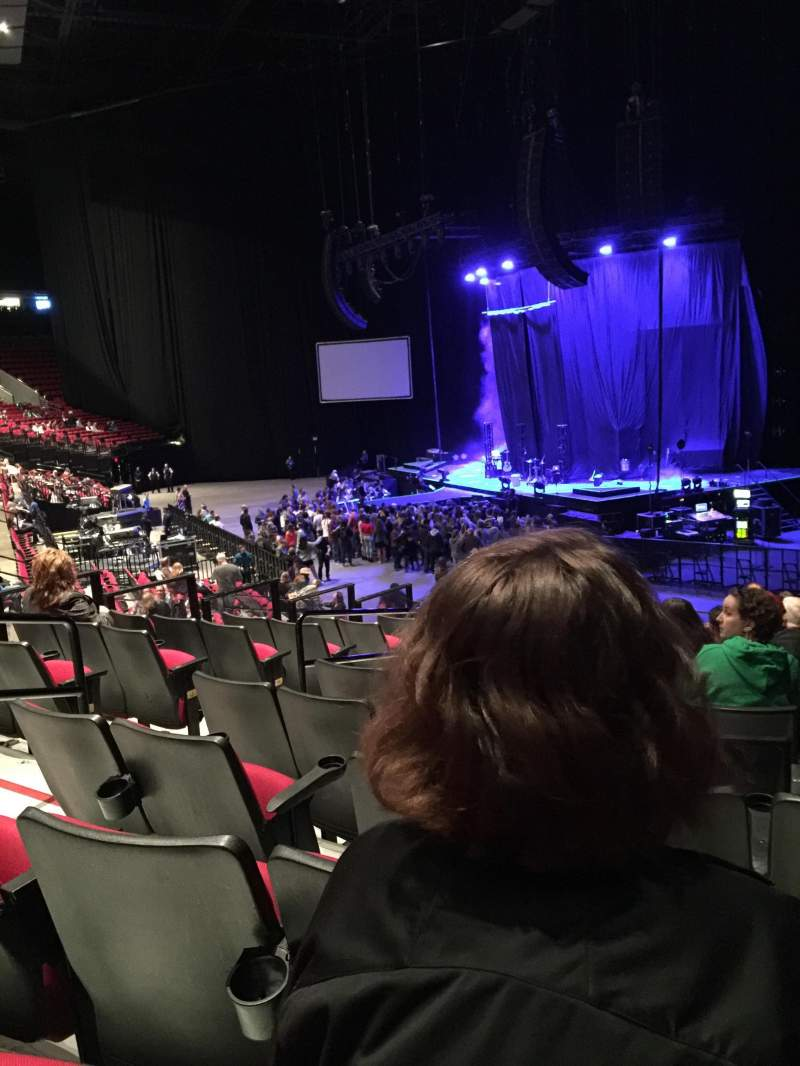 Moda Center, section 119, row O, seat 22 - Pentatonix tour