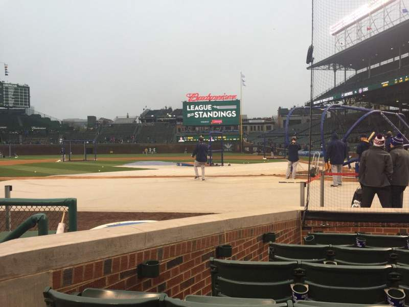 Seating view for Wrigley Field Section 15 Row 2 Seat 4