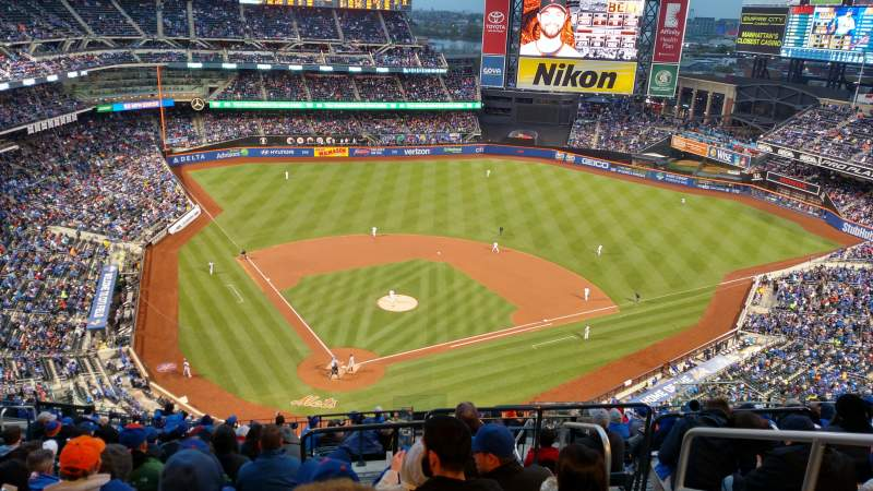Seating view for Citi Field Section 512 Row 16 Seat 20
