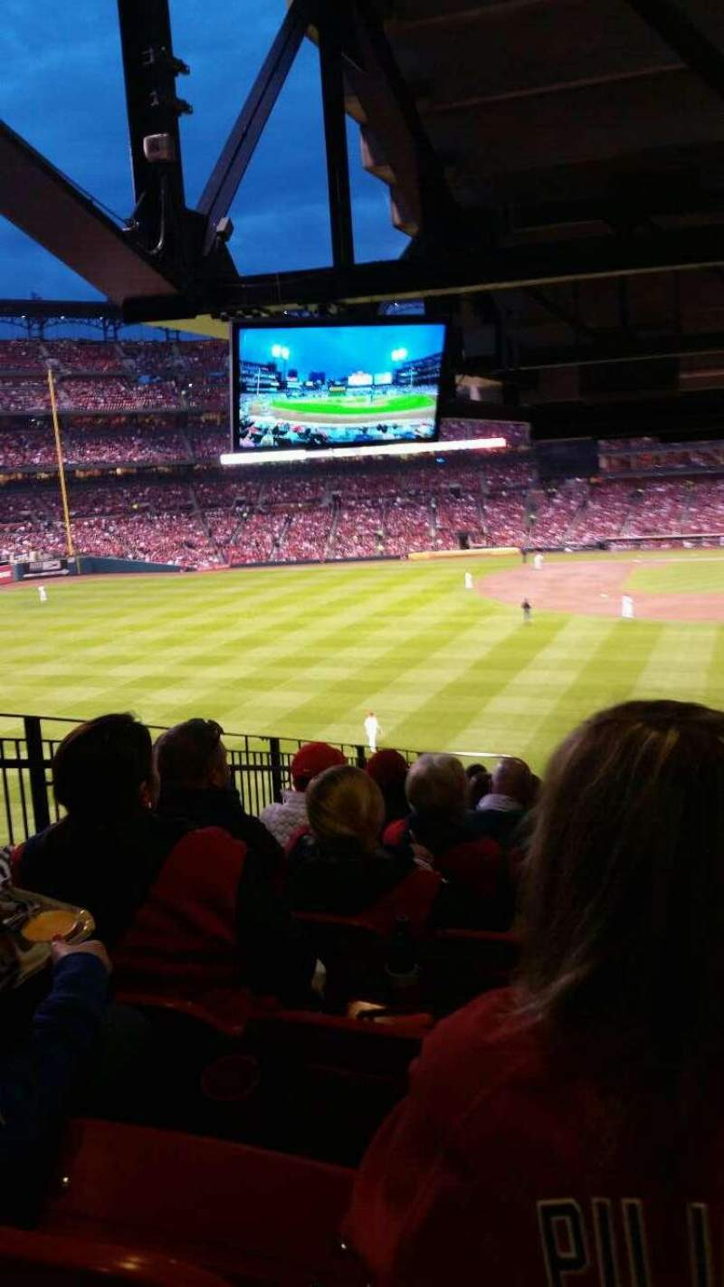 Seating view for Busch Stadium Section LP3BR Row 12 Seat 14
