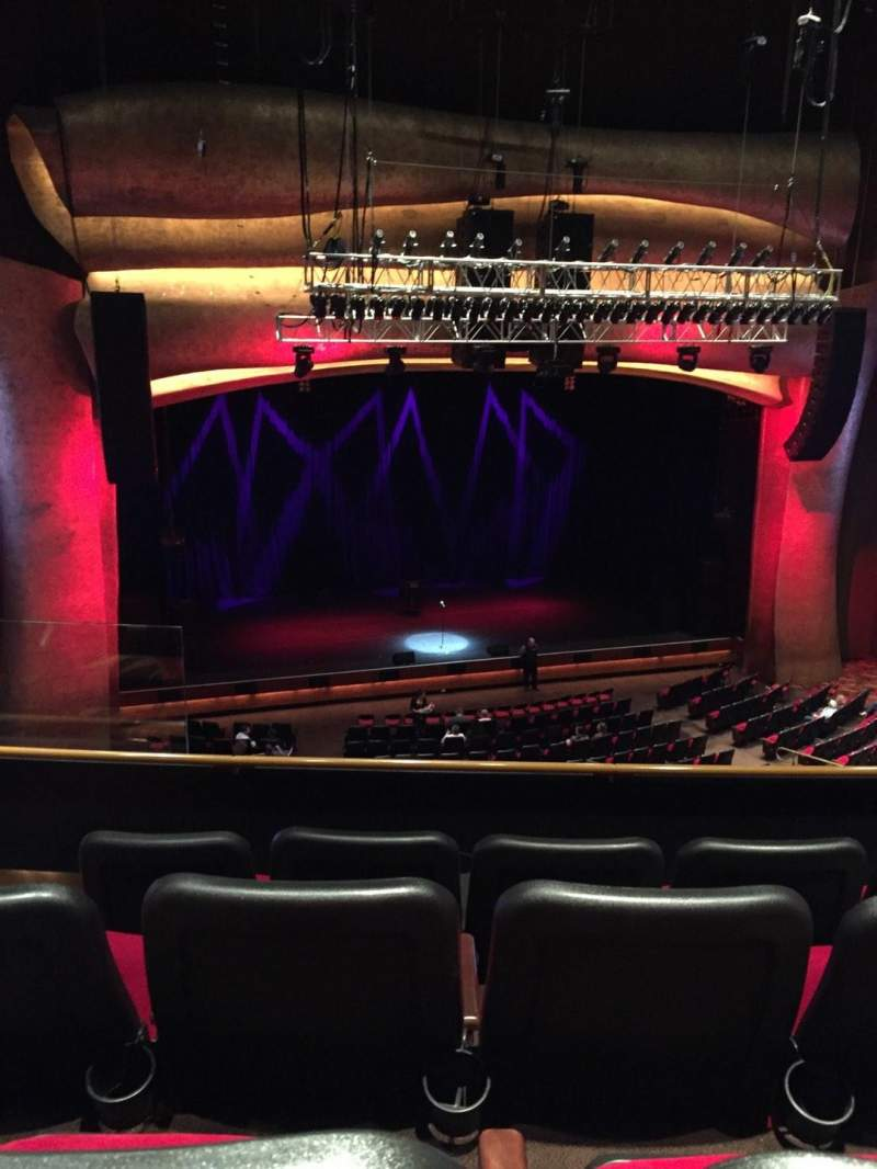 Seating view for The Grand Theater at Foxwoods Section Mez Left Center Row D Seat 109