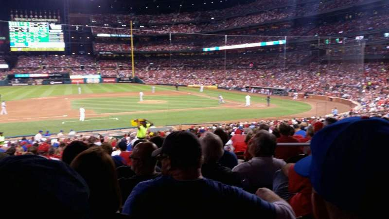 Seating view for Busch Stadium Section 157 Row 20 Seat 4