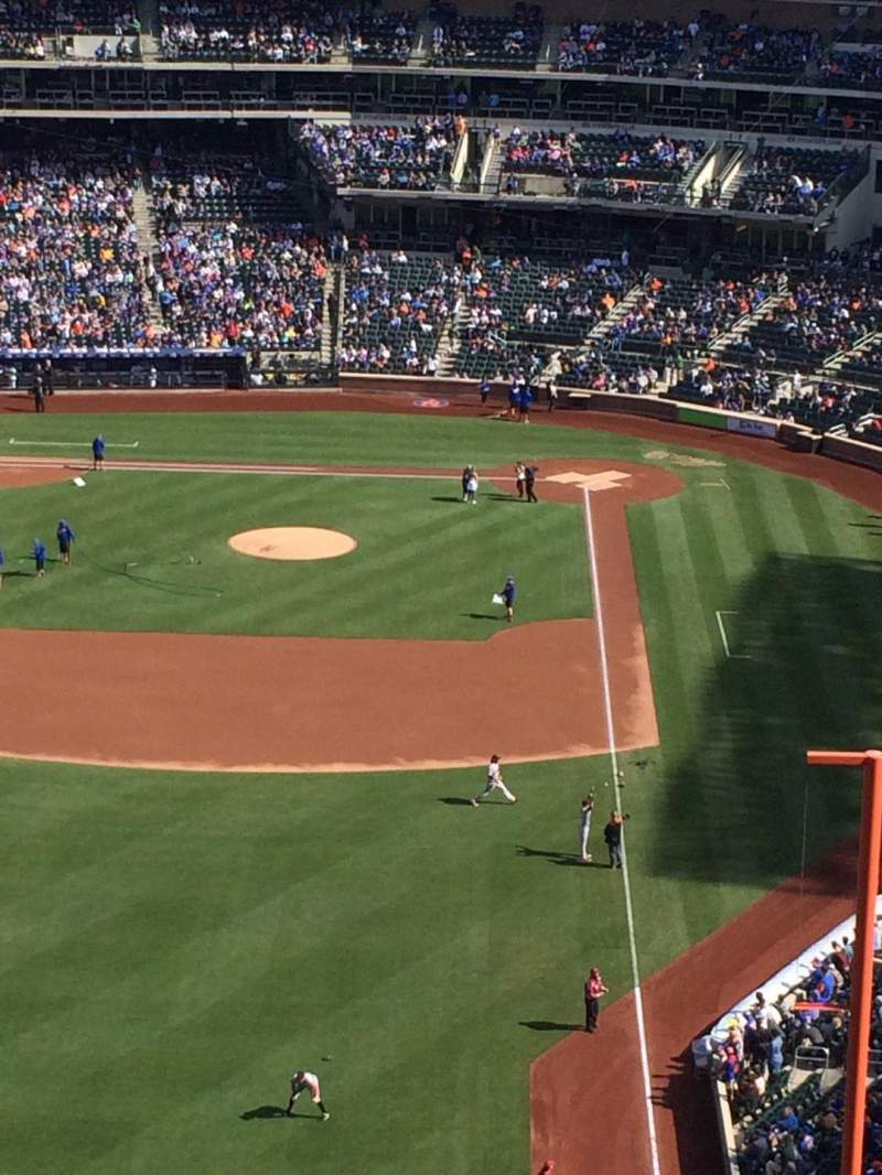 Seating view for Citi Field Section 532 Row 16 Seat 7