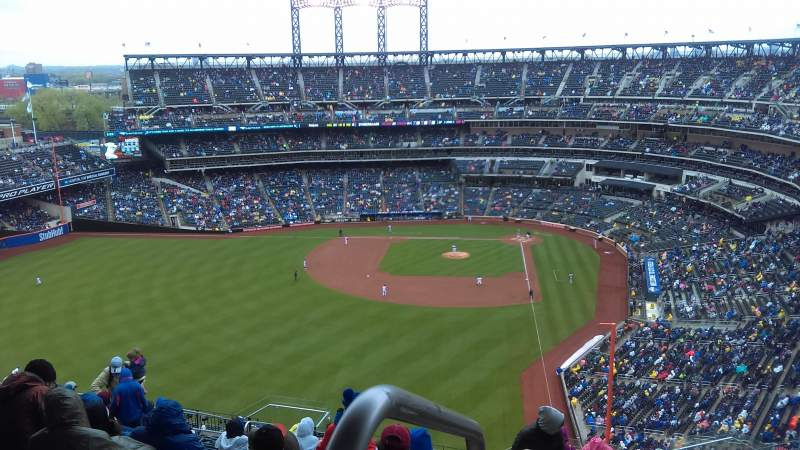 Seating view for Citi Field Section 533 Row 17 Seat 1