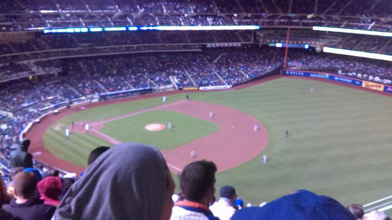 Seating view for Citi Field Section 503 Row 8 Seat 18