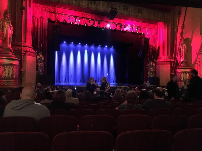 Seating view for Beacon Theatre Section Orchestra 1 Row T Seat 21