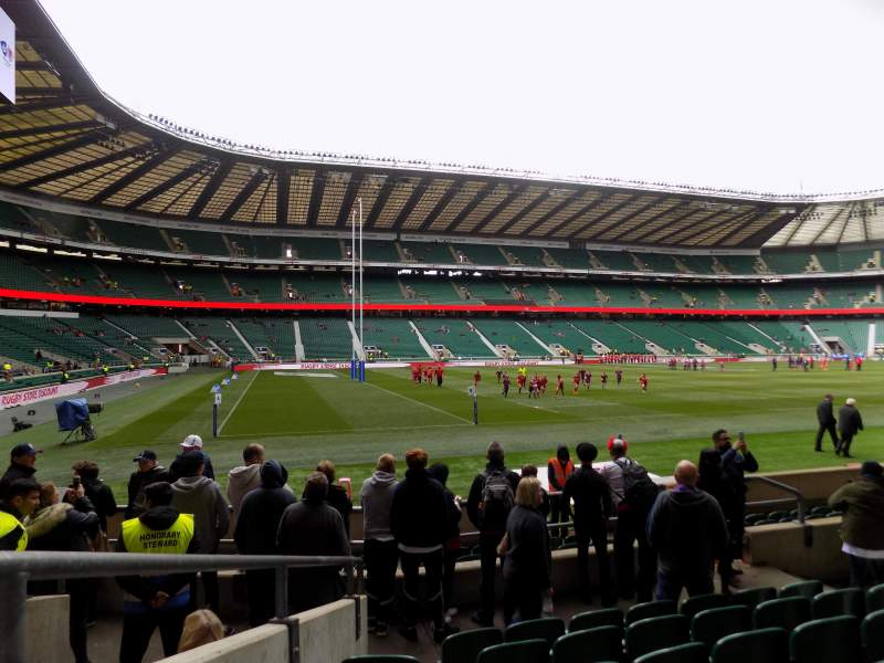 Seating view for Twickenham Stadium Section l9 Row 12 Seat 367