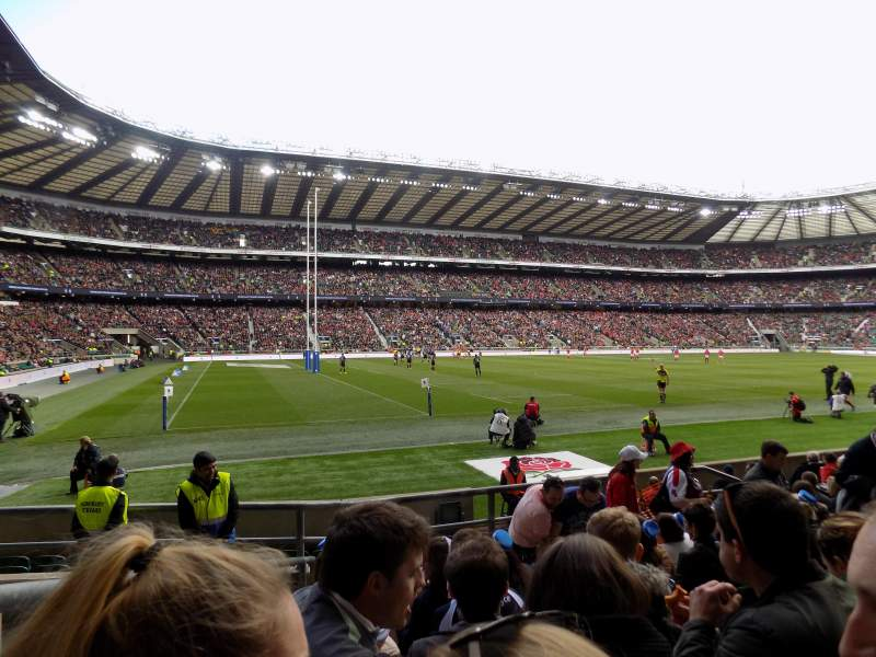 Twickenham Stadium, section: L9, row: 12, seat: 367