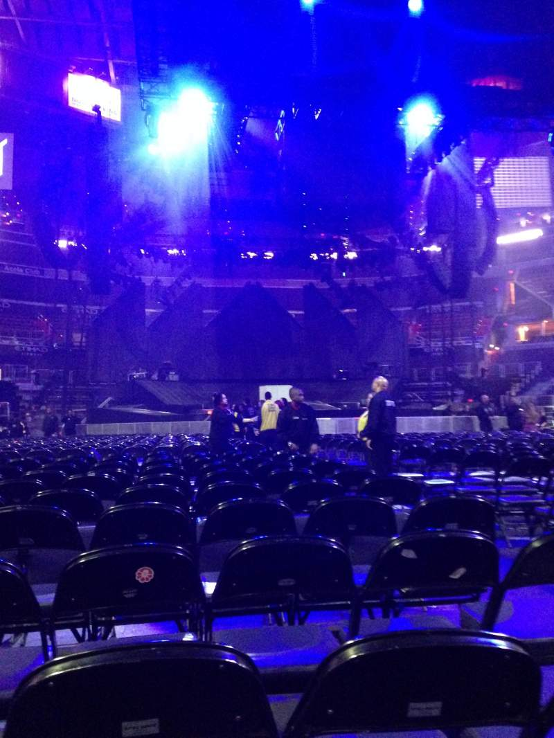 Seating view for Capital One Arena Section 4 Row L Seat 10