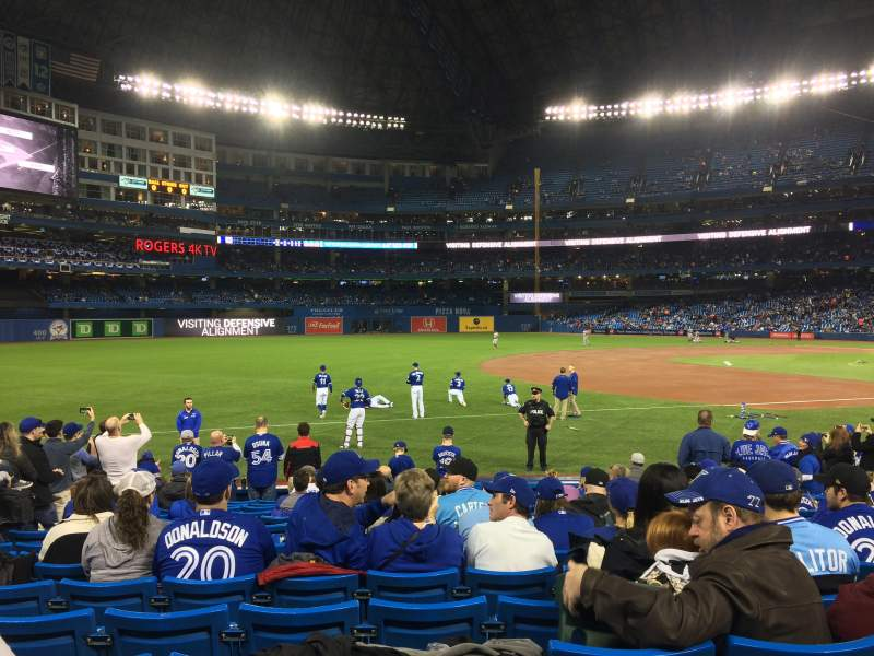 Seating view for Rogers Centre Section 130R Row 14 Seat 5