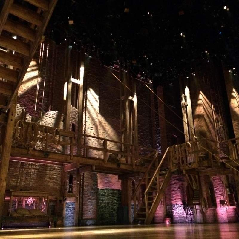 Seating view for Richard Rodgers Theatre Section Side Orchestra Row A Seat 7