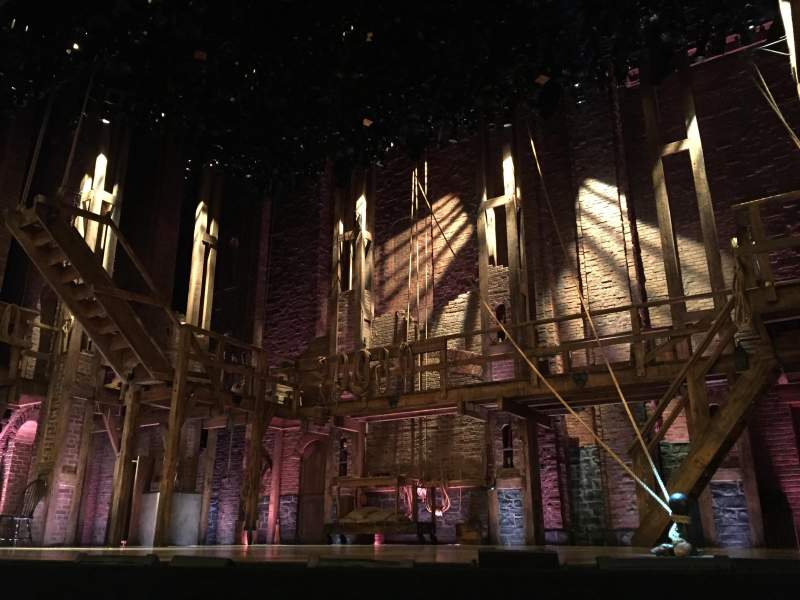 Seating view for Richard Rodgers Theatre Section ORCH Right Row B Seat 2