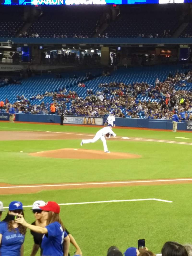 Seating view for Rogers Centre Section 128R Row 12 Seat 3,4
