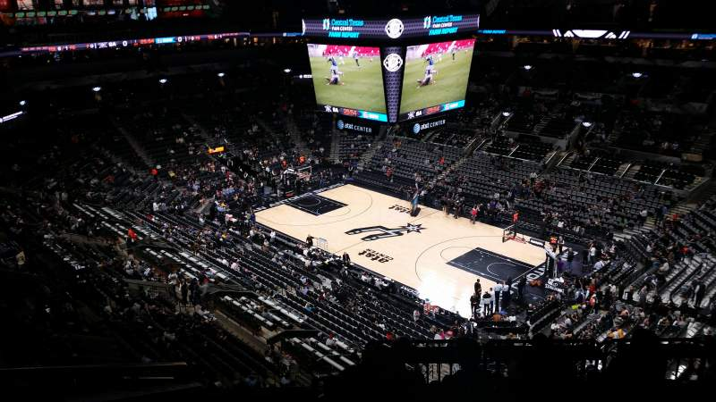 AT&T Center, section: 204, row: 9, seat: 13