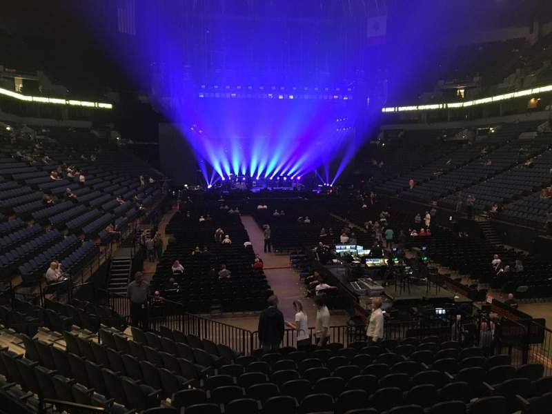 Seating view for U.S. Bank Theater at Target Center Section 104 Row M Seat 7