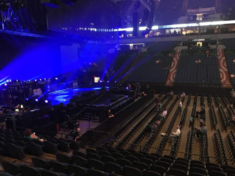 Seating view for U.S. Bank Theater at Target Center Section 112 Row M Seat 7